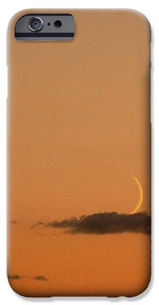Moon Ceramics iPhone Cases - Island In a Sea of Sky iPhone Case by Natalie LaRocque
