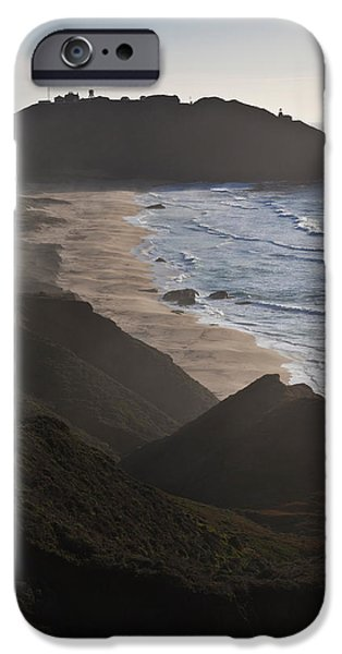 Big Sur Beach iPhone Cases - Island In The Pacific Ocean, Point Sur iPhone Case by Panoramic Images