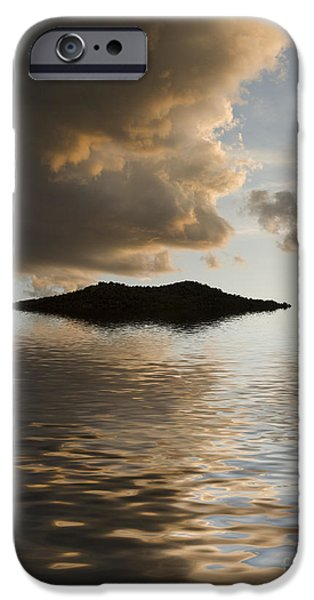 Storm iPhone Cases - Island iPhone Case by Jerry McElroy