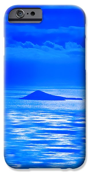Island of Yesterday wide crop iPhone Case by Christi Kraft