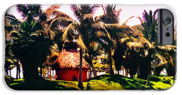 Island Paradise iPhone Case by CHAZ Daugherty