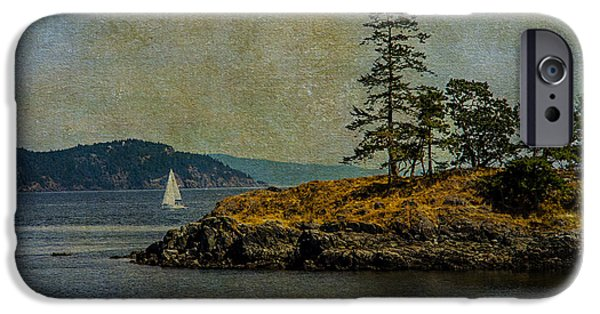 Rucker iPhone Cases - Island Time iPhone Case by Kathy Bassett