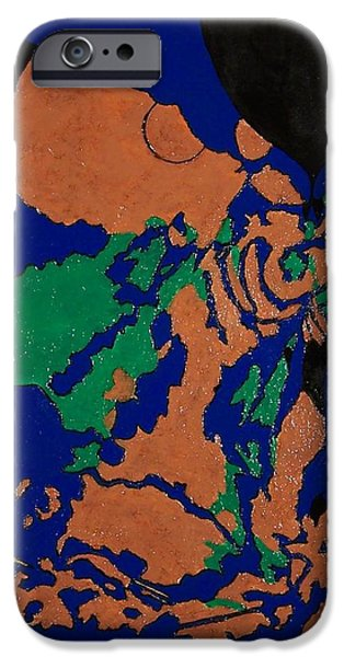 Arial View Paintings iPhone Cases - Islands iPhone Case by John Shipp