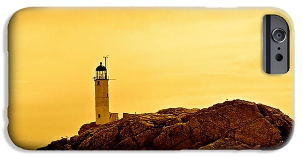 Prescott iPhone Cases - Isles of shoals iPhone Case by Mark Prescott Crannell