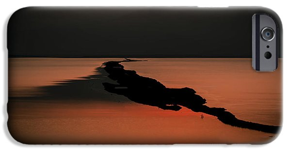 Dawn Of The Dead iPhone Cases - Israel Dead Sea 1 iPhone Case by Dan Yeger