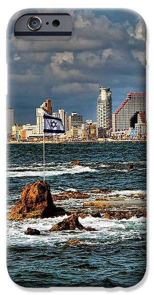 Israel full power iPhone Case by Ron Shoshani