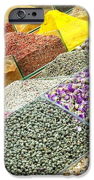 Istanbul egyptian spice market 01 iPhone Case by Antony McAulay