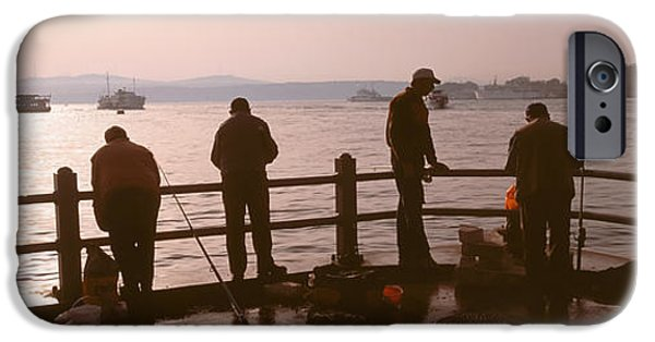 Gathering Photographs iPhone Cases - Istanbul, Turkey iPhone Case by Panoramic Images