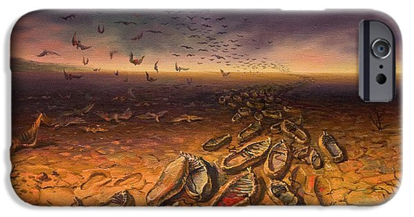 Genocides iPhone Cases - It is devoted to sacred memory the Triptych part 1 iPhone Case by Meruzhan Khachatryan
