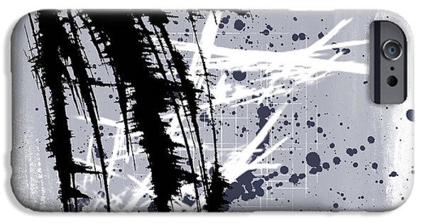 Abstract Digital Mixed Media iPhone Cases - It Is Your Turn iPhone Case by Melissa Smith
