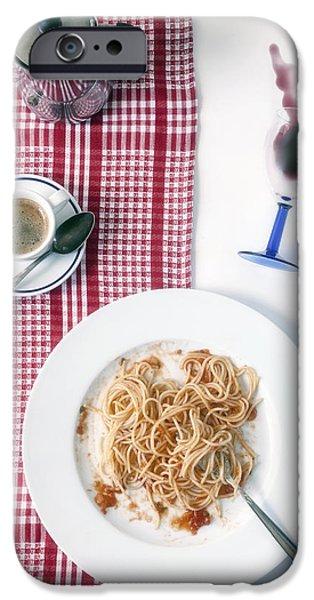 italian food iPhone Case by Joana Kruse