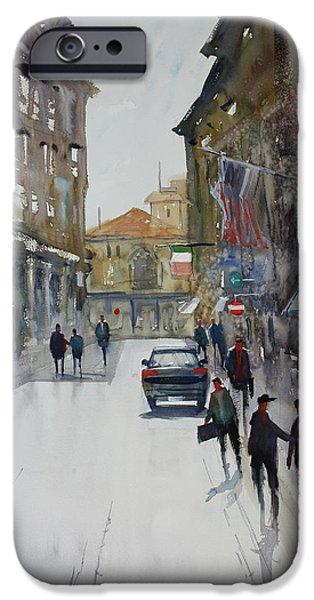 Italian Impressions 1 iPhone Case by Ryan Radke