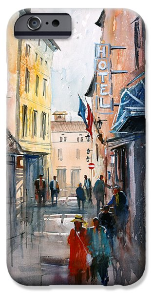 Italian Impressions 3 iPhone Case by Ryan Radke