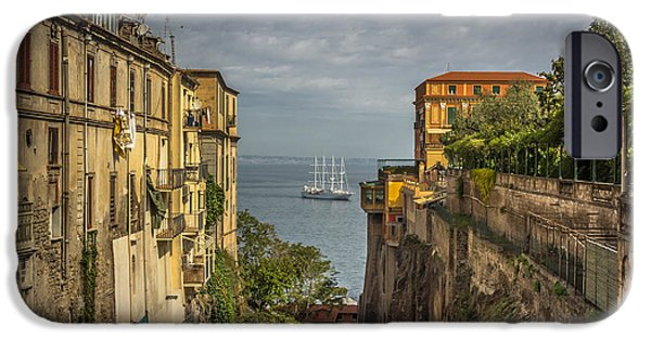 Shipping iPhone Cases - Italian shipping route iPhone Case by Chris Fletcher