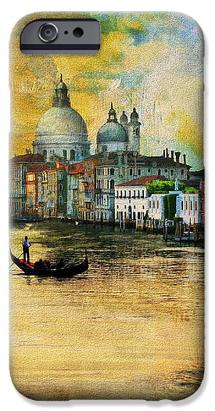 Italy 01 iPhone Case by Catf