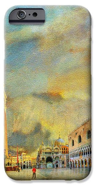 The Duomo iPhone Cases - Italy 03 iPhone Case by Catf