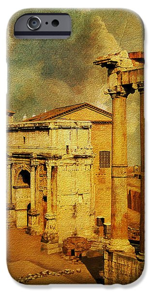 Italy 05 iPhone Case by Catf