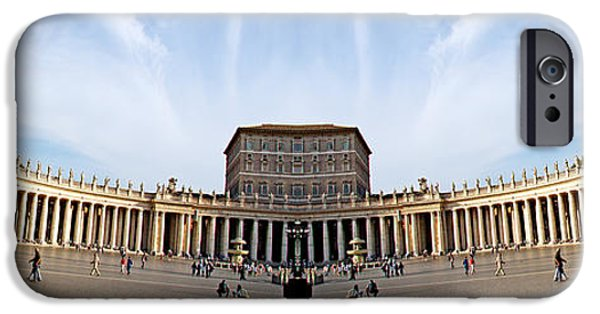 Strange iPhone Cases - Italy Double Vision #102 iPhone Case by Evan Peller