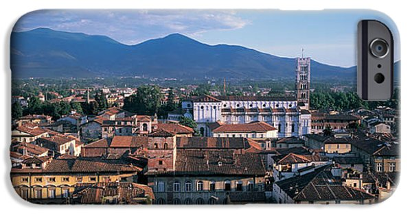 Mountain iPhone Cases - Italy, Tuscany, Lucca iPhone Case by Panoramic Images