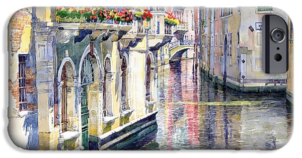 Buildings iPhone Cases - Italy Venice Midday iPhone Case by Yuriy Shevchuk