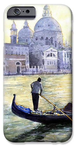 Italy Venice Morning iPhone Case by Yuriy Shevchuk