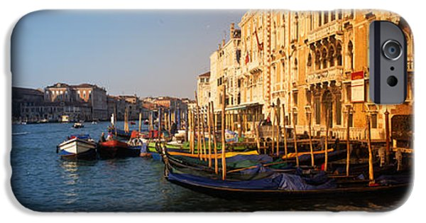 Balcony iPhone Cases - Italy, Venice, Santa Maria Della iPhone Case by Panoramic Images