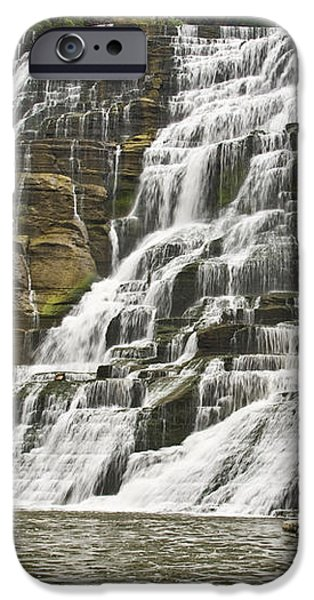 Ithaca Falls iPhone Case by Anthony Sacco