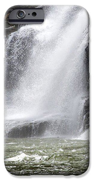 Ithaca Falls On Fall Creek - Mountain Showers iPhone Case by Christina Rollo
