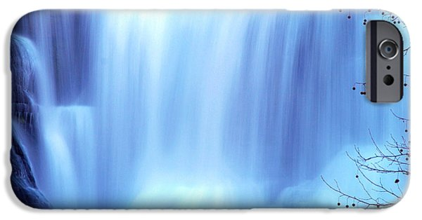 Ithaca iPhone Cases - Ithaca Water Falls New York  iPhone Case by Paul Ge