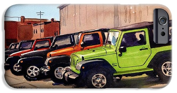 Jeep iPhone Cases - Its a Jeep Thing iPhone Case by Spencer Meagher