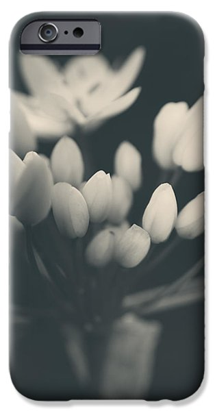 Monotone Photographs iPhone Cases - Its a New Life iPhone Case by Laurie Search