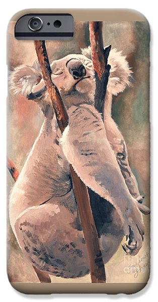 Its About Trust - Koala Bear iPhone Case by Suzanne Schaefer