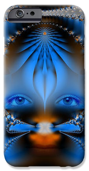 Its All In The Eyes iPhone Case by Ian Mitchell