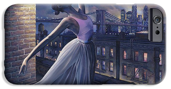 Rooftop iPhone Cases - Its Never Too Late iPhone Case by Dennis Goff