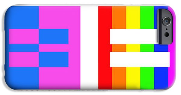 Lesbian iPhone Cases - Its Time - Equal Rights For All By Sharon Cummings iPhone Case by Sharon Cummings