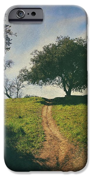 It's Time to Get Up That Hill iPhone Case by Laurie Search