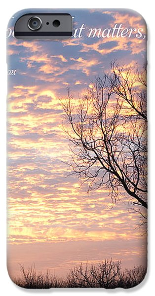 It's What You See iPhone Case by Kay Pickens