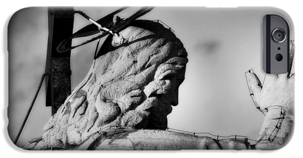 Behind The Scenes Photographs iPhone Cases - Ive Got Your Back iPhone Case by Henry Kowalski