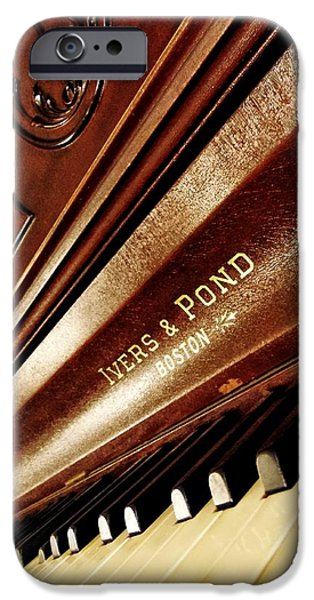 Piano iPhone Cases - Ivers Ponds Piano 2 iPhone Case by Todd and candice Dailey