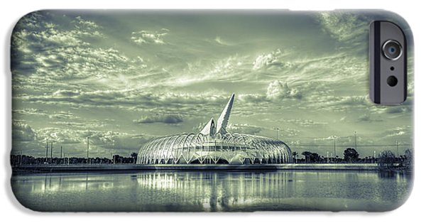 Technical Photographs iPhone Cases - Ivory Tower of Knowledge- split tone iPhone Case by Marvin Spates