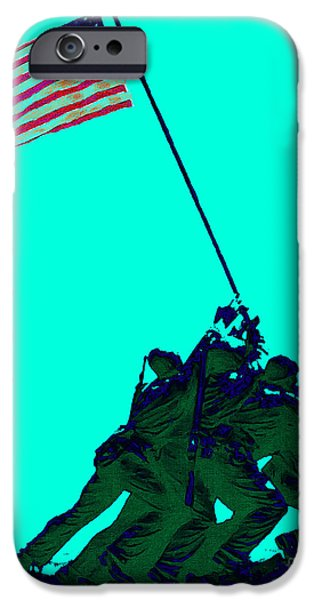 Iwo Jima 20130210m128 iPhone Case by Wingsdomain Art and Photography