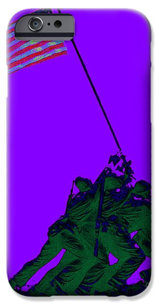 Iwo Jima 20130210m28 iPhone Case by Wingsdomain Art and Photography
