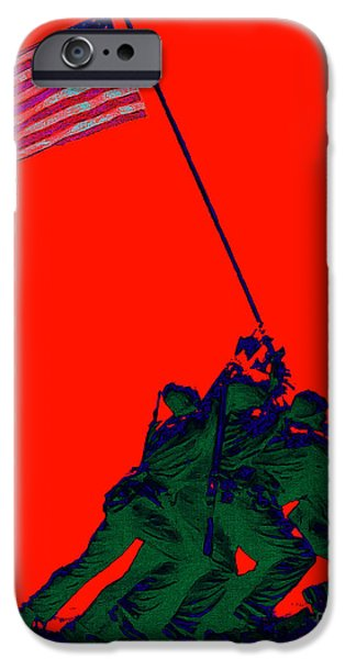 Iwo Jima 20130210p65 iPhone Case by Wingsdomain Art and Photography