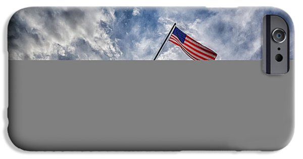 Patriotism iPhone Cases - Iwo Jima Memorial iPhone Case by Susan Candelario