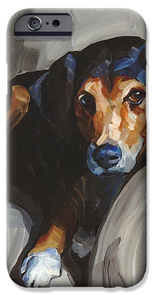 Jack iPhone Case by Annie Salness