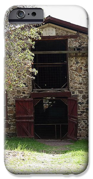 Jack London Sherry Barn 5D22070 iPhone Case by Wingsdomain Art and Photography