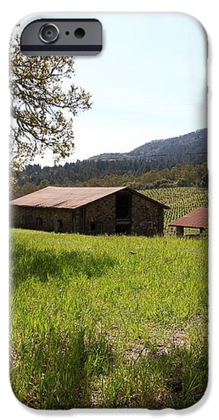 Jack London Stallion Barn 5D22056 iPhone Case by Wingsdomain Art and Photography