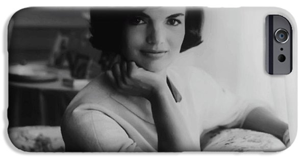 Best Sellers -  - First Lady iPhone Cases - Jackie Kennedy  1961 iPhone Case by Daniel Hagerman