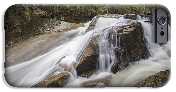 Snow Melt iPhone Cases - Jackman Falls - North Woodstock New Hampshire USA  iPhone Case by Erin Paul Donovan