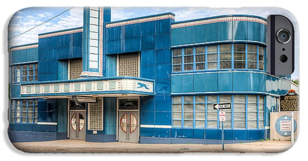 Old Bus Stations iPhone Cases - Jackson Mississippi Greyhound Bus Station I iPhone Case by Clarence Holmes